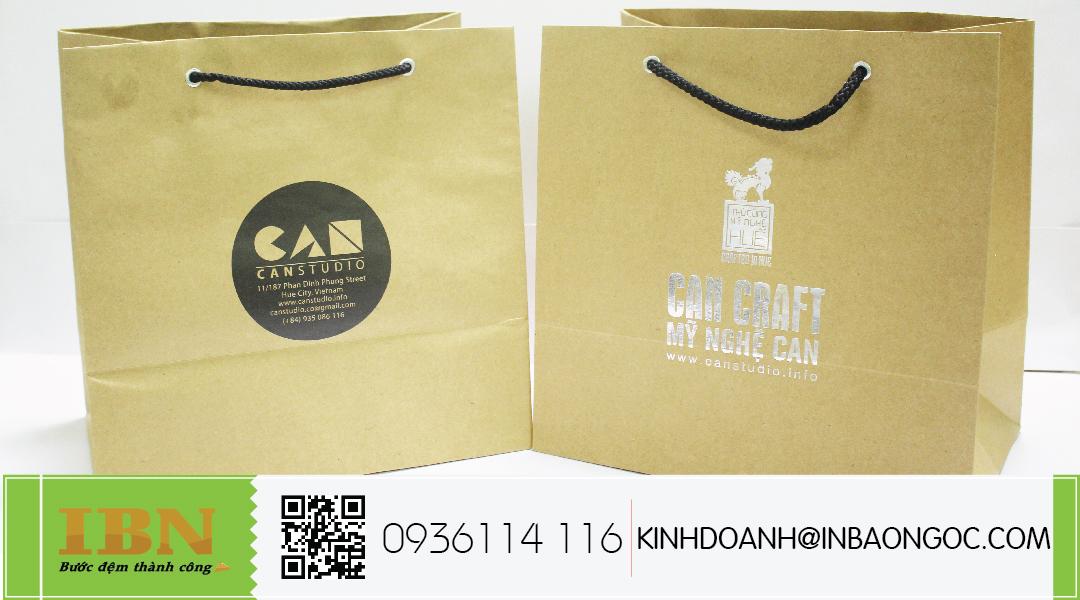 in túi giấy có thiết kế đẹp hcm