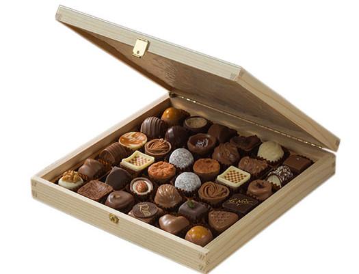 hộp giấy socola