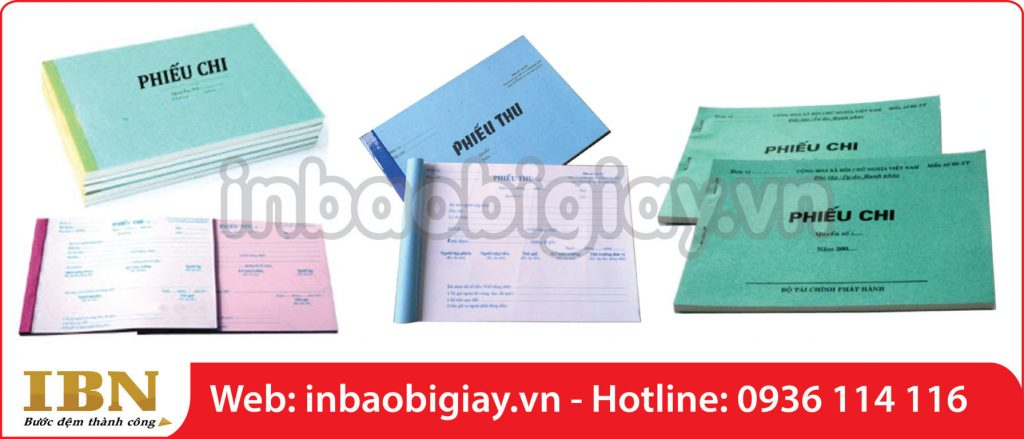 in biểu mẫu hóa đơn