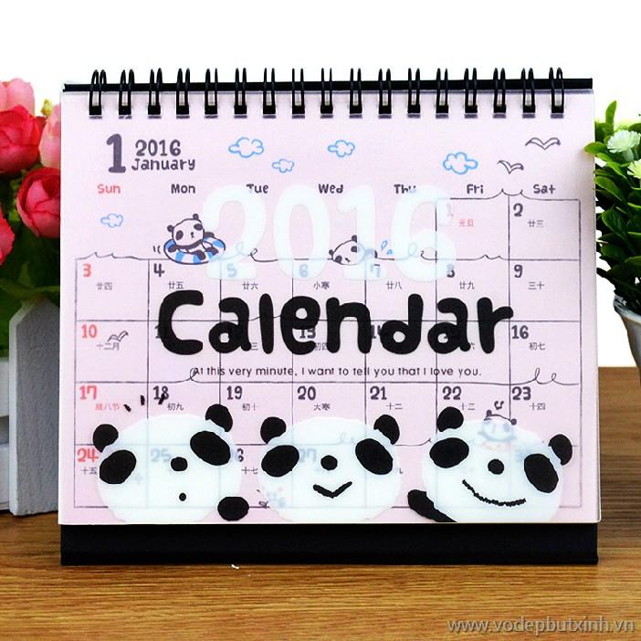 mẫu lịch để bàn tphcm