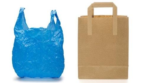 so sánh túi giấy và nylon