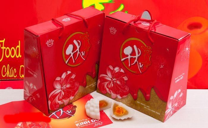 In bao bì bánh trung thu Kinh Đô ấn tượng