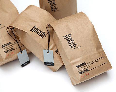 In túi giấy đựng cafe giá rẻ