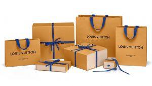 Túi giấy đựng sản phẩm Louis Vuitton