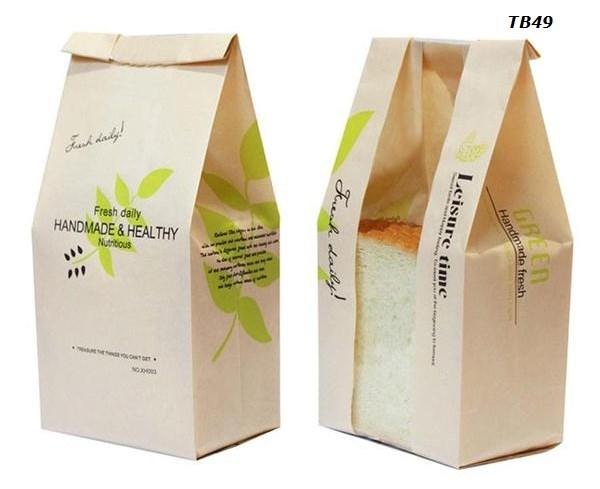 In túi đựng bánh mì hoa cúc cao cấp