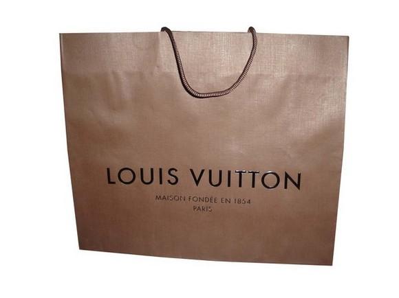 Mẫu in túi giấy thương hiệu Louis Vuitton