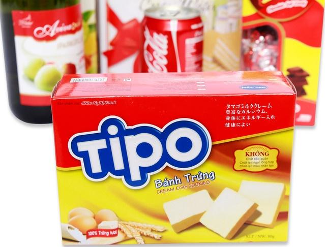 Hộp giấy đựng bánh thương hiệu Tipo