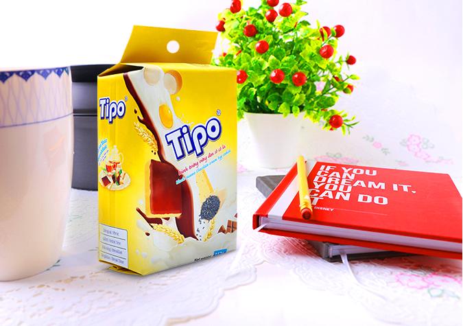 Mẫu in hộp giấy đựng bánh Tipo
