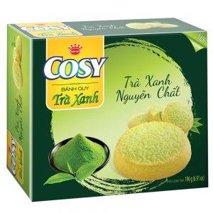In hộp bánh quy trà xanh cho doanh nghiệp