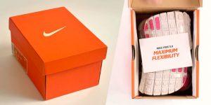 Mẫu in hộp giấy đựng giày Nike