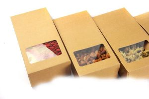 in túi giấy kraft đựng thực phẩm