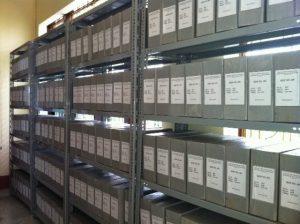 lưu trữ giấy tờ liên quan
