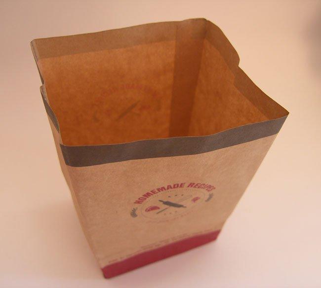 mẫu túi giấy kraft đựng khoai tây chiên