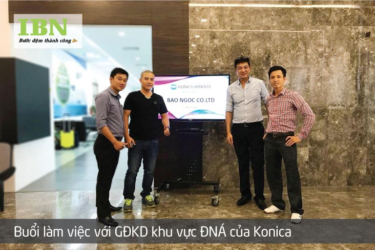 Thăm Quan và làm việc với công ty Konica Minolta tại Singapore