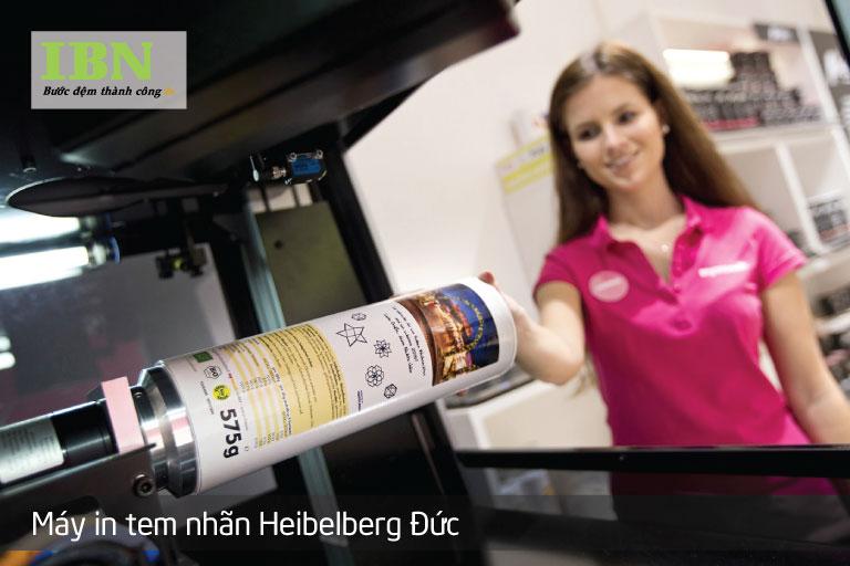 Máy in tem nhãn của Heibelberg Đức