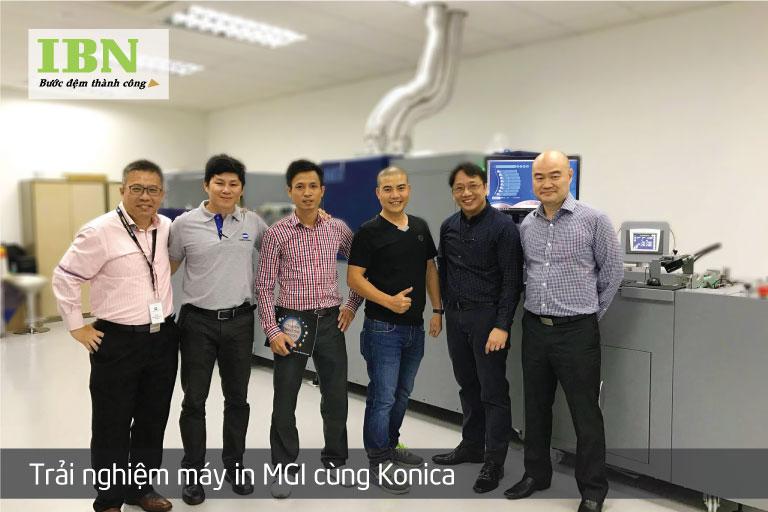 Thăm quan nhà máy Konica Minolta tại Singapore