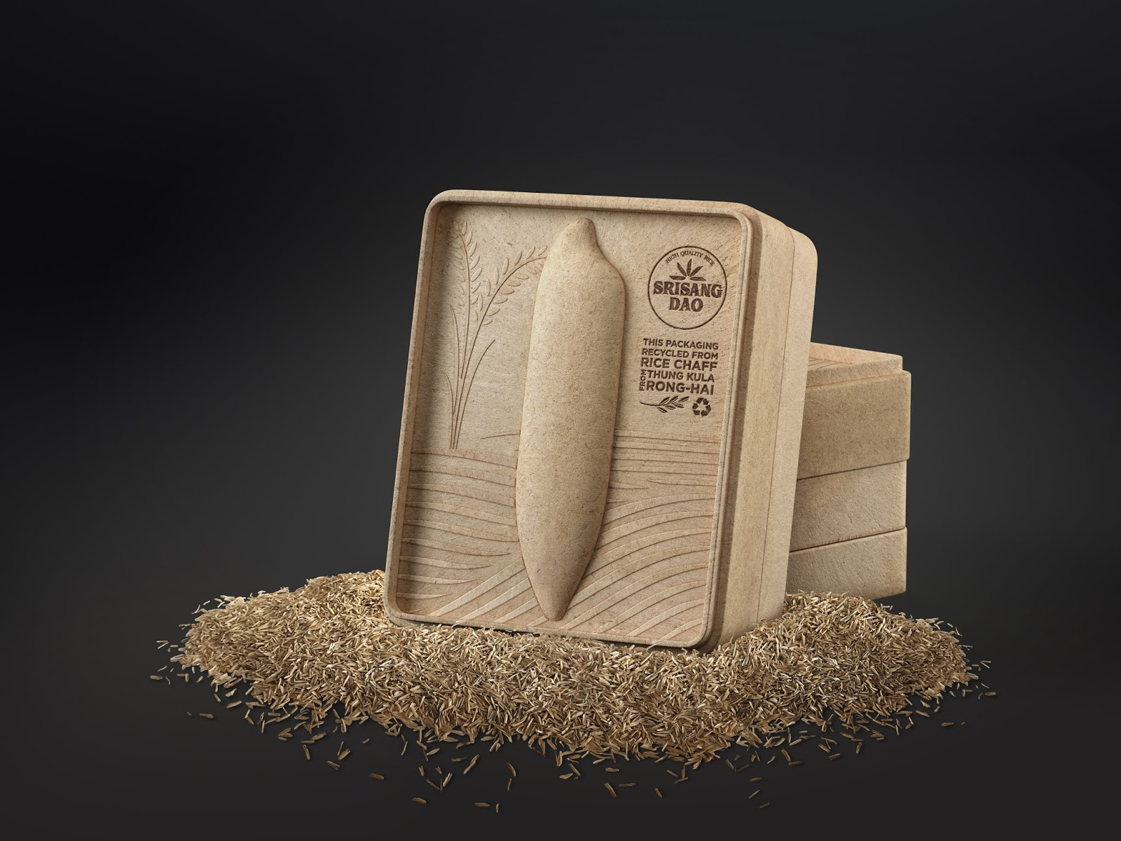 bao bì đựng gạo